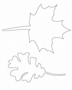 Fall leaf template diy printables pinterest for Martha stewart leaf template