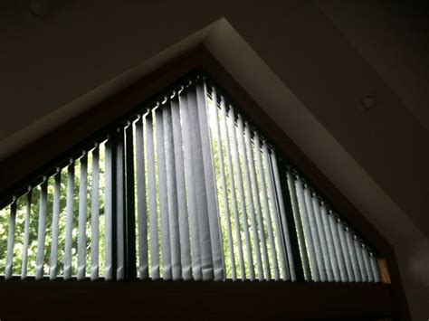 triangle window coverings vertical blinds