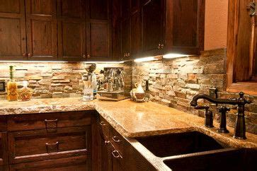 backsplash in kitchens copper farm sink back splash darker cabinets with 1424