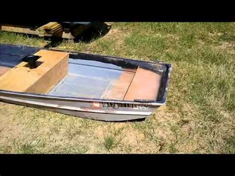 Flat Bottom Boat Transom Repair by Flatbottom Boat Transom Rebuild 20 Doovi