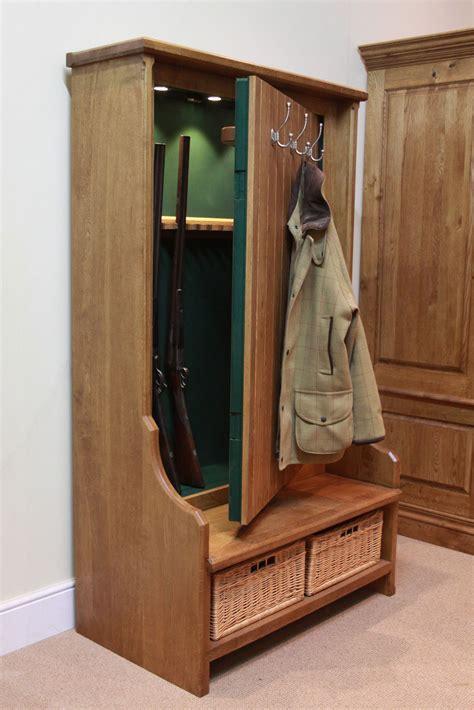 hidden gun cabinet furniture gun concealment bench furniture stashvault