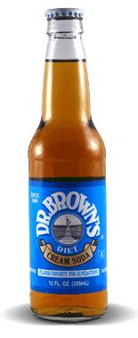 Looking for an affordable healthy coffee creamer? Dr. Brown's Diet Cream Soda - Soda Pop Stop