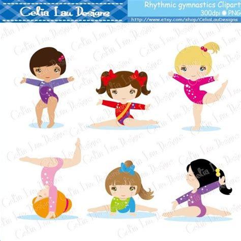 gymnastics clipart cute girl sport clip art rhythmic