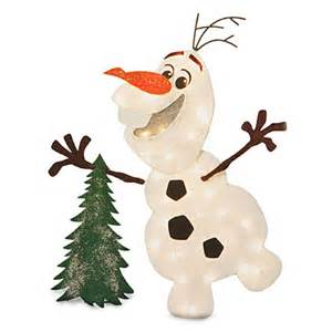 disney 174 frozen lighted olaf big lots