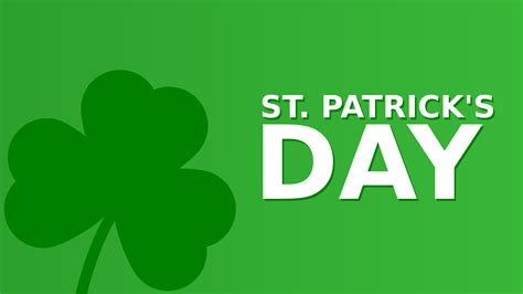 st pats day date clipart st s day minimalist featured image 16 9