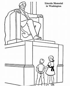 lincoln memorial coloring page coloring page book for kids With lincoln flower car