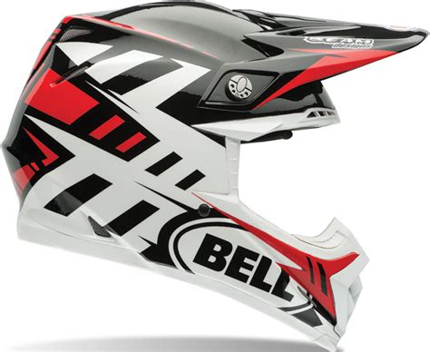 Bell Moto-9 Flex Syndrome Red Home Motorcycle Motocross