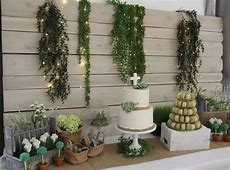 Garden Baptism Party Ideas Photo 5 of 8 Catch My Party