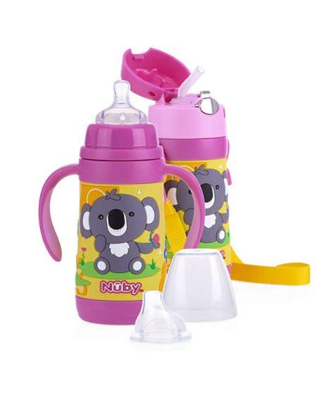 botol nuby botol minum praktis untuk si kecil saat bepergian smartmama