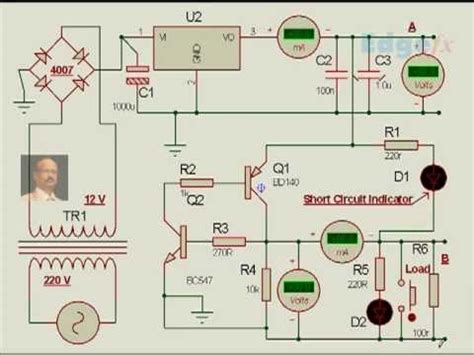 Power Supply Short Circuit Protection Embedded System