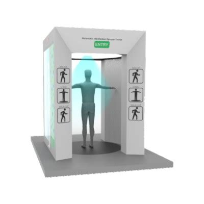 Sanitizer Spray Tunnel Booth - Corona Disinfection Tunnel