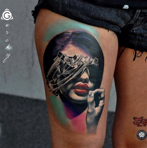 mesmerizing surreal tattoos   wonderful gravetics