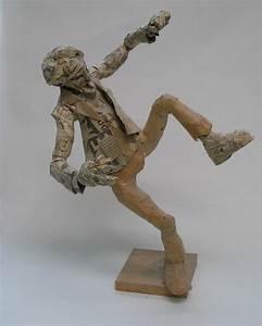 Sculpture En Papier Maché : el capitan 3 d design papier m ch figures ~ Melissatoandfro.com Idées de Décoration