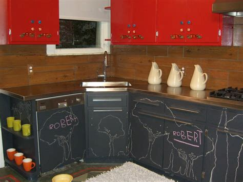 Red Chalk Paint Kitchen Cabinets How Durable The Clayton