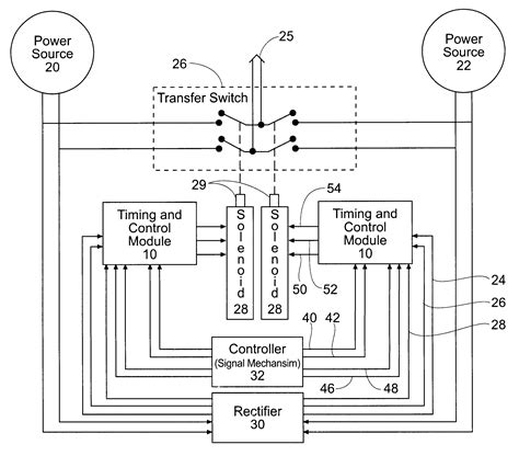 Asco Series Automatic Transfer Switch Wiring Diagram