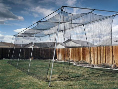 Batting Cage Backyard by How To Build A Backyard Batting Cage Ebay