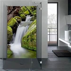 Wasserfeste Wandverkleidung Bad : r ckwand glas dusche duschr ckwand esg mit motiv ~ Lizthompson.info Haus und Dekorationen