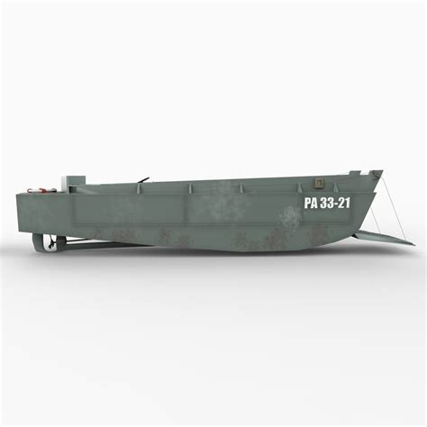 Higgins Boat Lcvp by Higgins Boat Lcvp 3d Model Max Obj 3ds C4d Lwo Lw