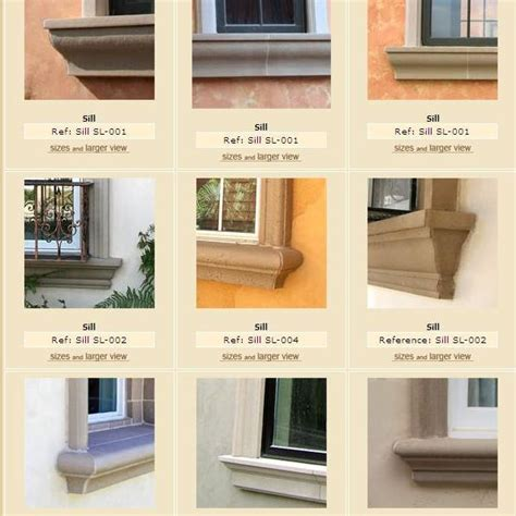 Exterior Window Sill Design by Exterior Window Frame Window Sill More Pictures And Spec