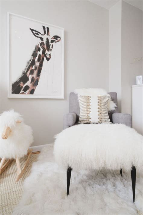 Nursery Sheepskin Rug by Design Intervention Diary A Site For Design Musings And