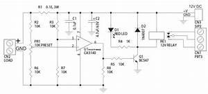 Current Sense Switch Using Shunt Resistor  U0026 Op