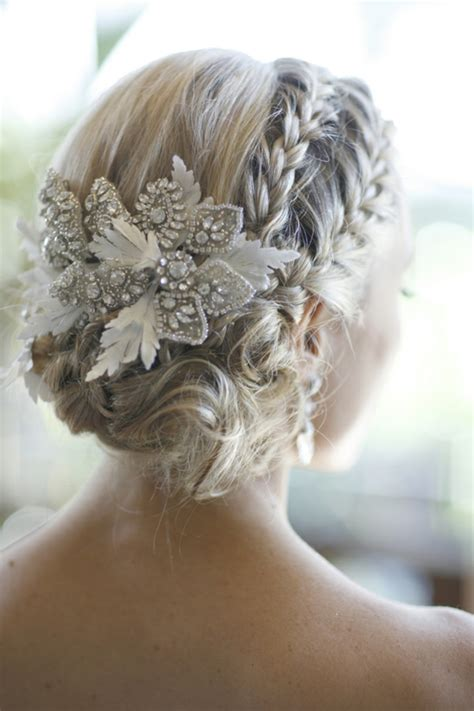 braided wedding hairstyles   happiest day