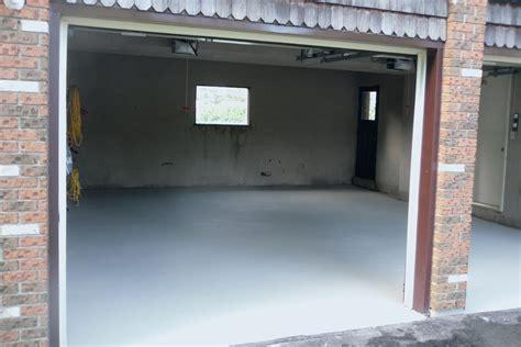 resurfacing garage floor badly garage floor resurfacing tybo concrete coatings repair
