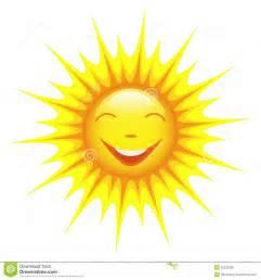 Cartoon Sun with No White Background