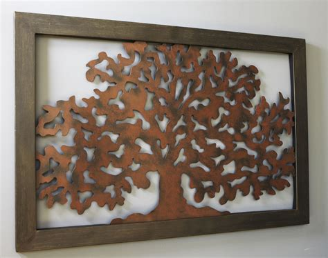 cadre en m 233 tal motif arbre becquet