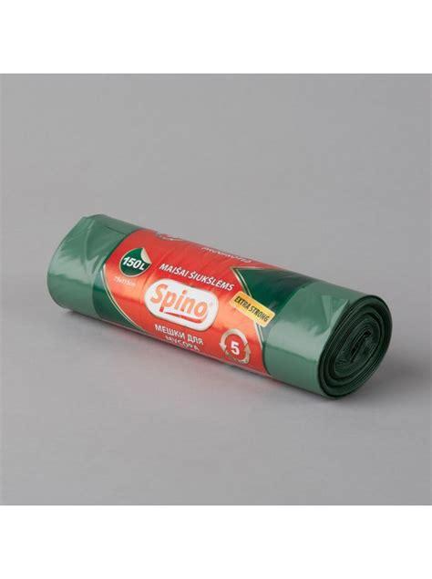 Atkritumu maisi Spino, zaļi, Extra Strong