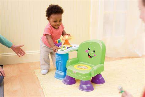 chaise fisher price musical fisher price laugh learn musical learning chair pink