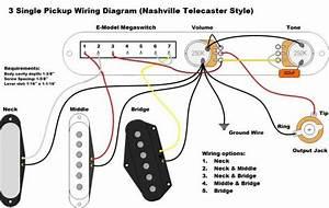 Telecaster 3 Pickup Wiring Diagram