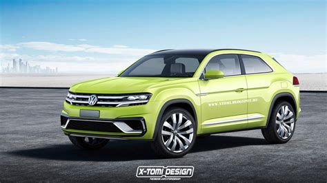 volkswagen coupe volkswagen working on tiguan coupe r with 300 hp