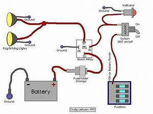 Five Wire Relay 5 Pin Bosch Relay Wiring Diagram Wiring