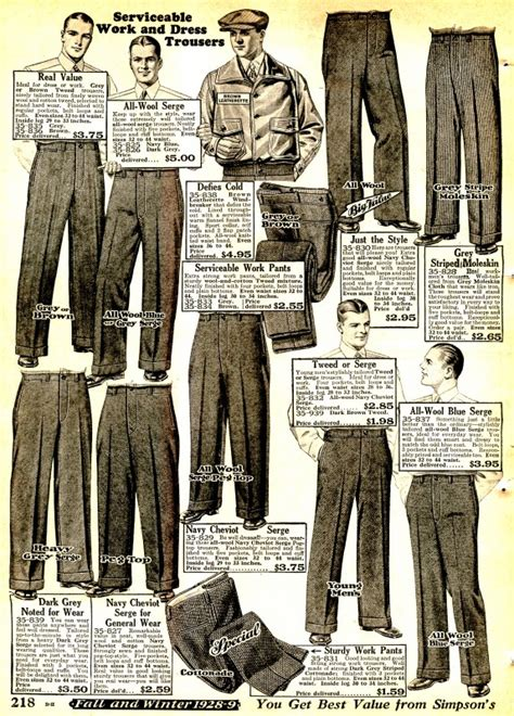 mens pants history oxford bags   knickers
