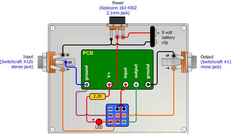 Godown Wiring Diagram Pdf by Switched True Bypass Wiring