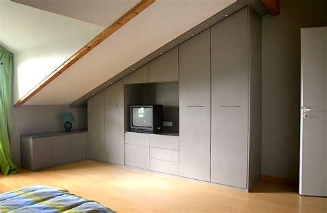lit mezzanine ikea avec bureau placard sous pente sur mesure nantes vannes