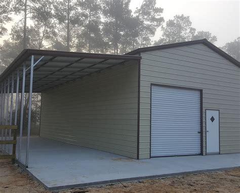 93+ Metal Garage With Lean To  General Steel Garage