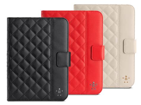 belkin quilted cover met stand case voor ipad mini