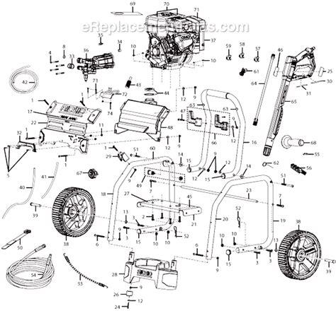 ridgid 3000 psi 2 6 gpm premium pressure washer rd80746 ereplacementparts