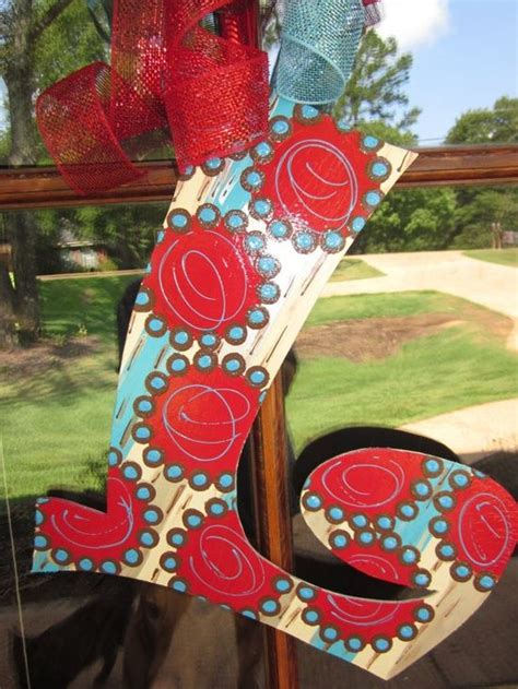 painted letter painted letters decorative letters cute crafts