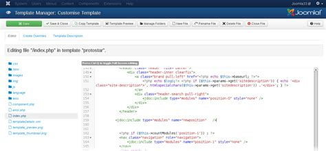 How To Upload A Template In Joomla by How To Add New Module Position In Joomla