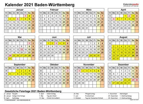 Ferien nrw 2021 kalender nordrhein westfalen 2021 download. Kalender 2021 Baden-Württemberg: Ferien, Feiertage, PDF ...