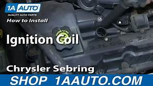 How To Replace Ignition Coil 01-06 Chrysler Sebring 2 7l