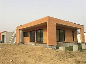 Maison Ossature Bois Toit Plat : maison contemporaine bois toit plat jev08 slabtownrib ~ Melissatoandfro.com Idées de Décoration