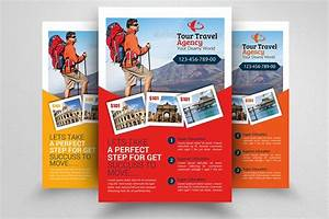 Tour Travel Agency Flyer Template ~ Flyer Templates