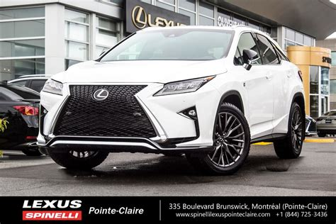 lexus rx 350 2017 used 2017 lexus rx 350 f sport serie 2 for sale in