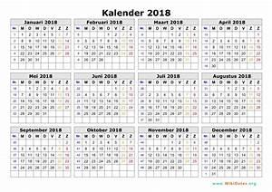 Afbeeldingsresultaat voor kalender 2018 per maand