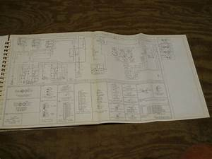 1980 Ford Cl9000 Cl Truck Wiring Diagram Schematic Sheet Service Manual