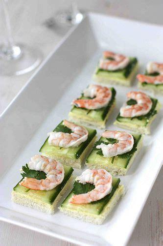 shrimp canapes recipes shrimp cucumber curry cheese canapes recipe